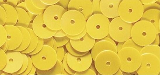 Pailletten irisierend gelb
