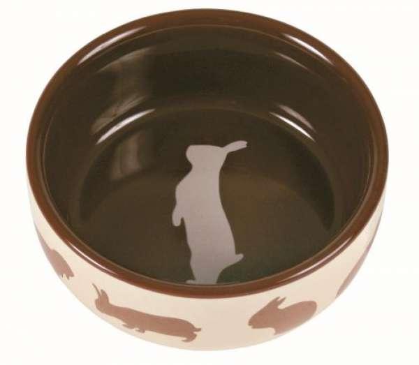 Trixie Keramiknapf 'Kaninchen', 250 ml/ø 11 cm
