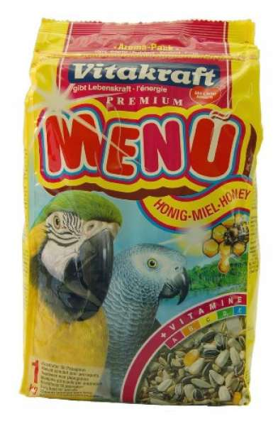 Vitakraft Premium Menü für Papageien 1kg