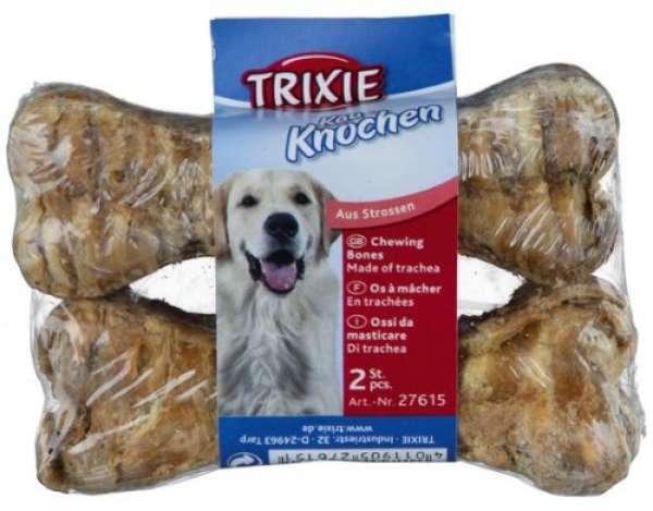 Trixie Kauknochen aus Rinderstrossen 10cm / 2 x 35g