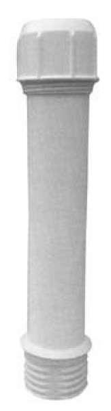 Delschen Alu-Ersatzrohr weiss 55 mm Sb60359