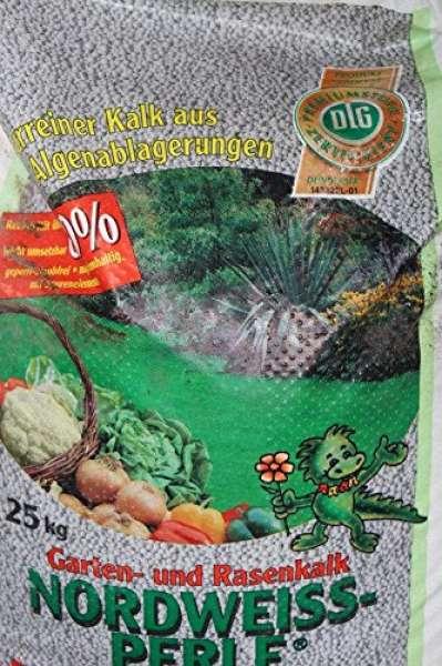 Nordweiss-Perle Garten- und RasenKalk 10kg