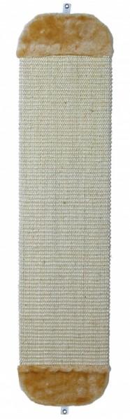 Trixie Kratzbrett XL mit Plüsch beige, 18 × 78 cm