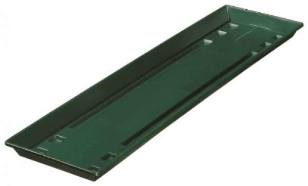 Geli Blumenkasten-Untersetzer Standard 50 cm dunkelgrün