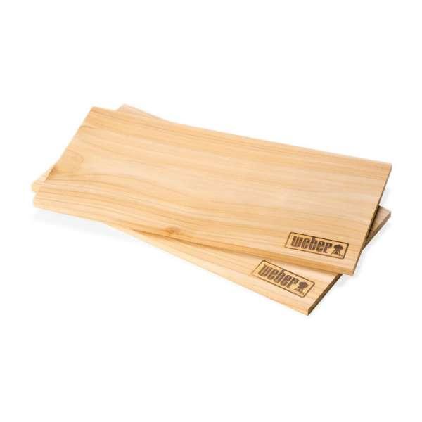 Räucherbretter Zedernholz 2er klein