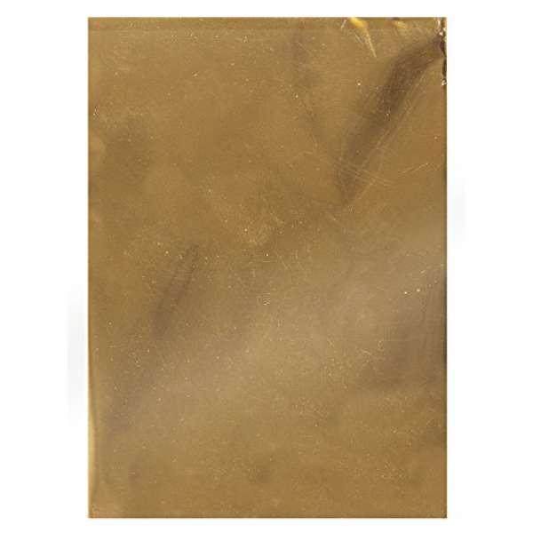 Wachsschreibfolie gold 10x15cm
