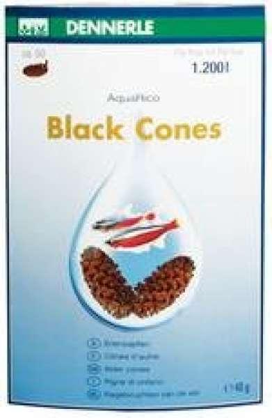 Dennerle AquaRico Black Cones - Erlenzapfen 50 Stk. für 1.200 ltr 40g