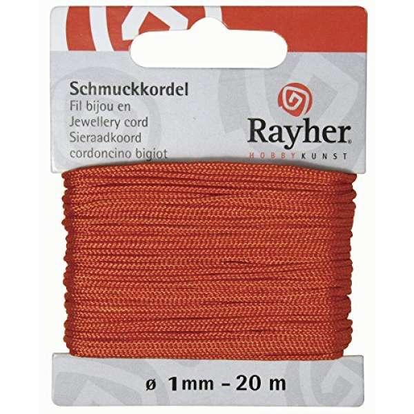Schmuckkordel orange