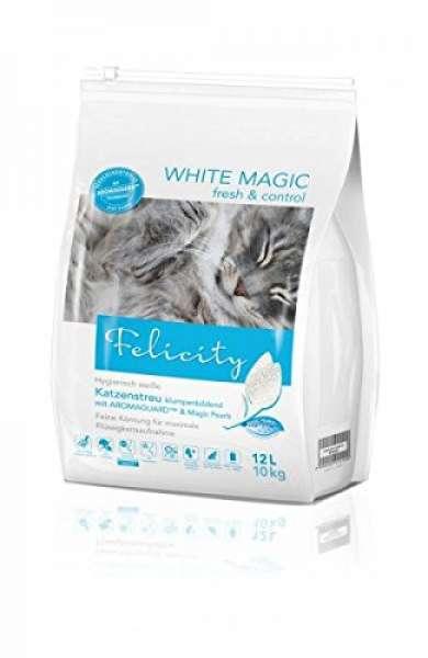 Felicity Katzenstreu WHITE MAGIC fresh & control 12L/10kg Beutel