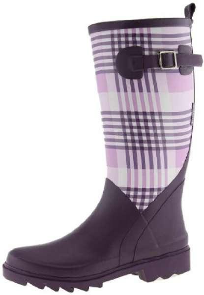 AJS Blackfox Stiefel Dublin violett