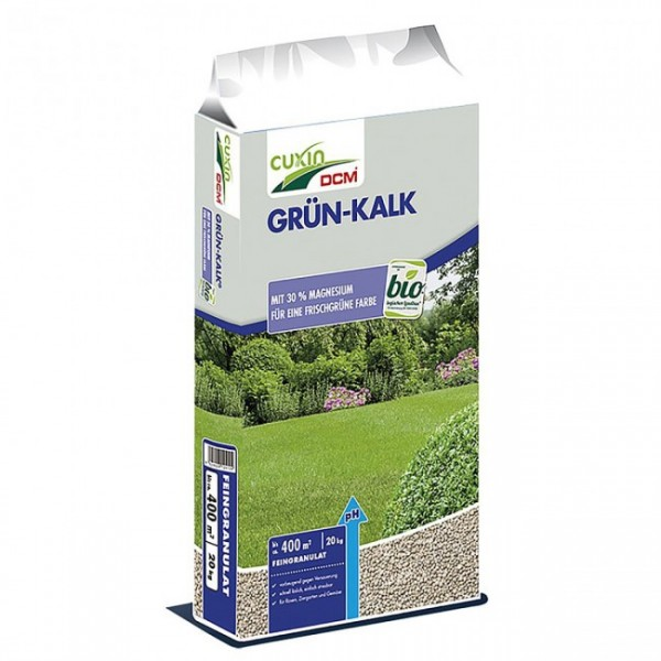 Cuxin Dcm Grun Kalk 20 Kg Bio Dunger Dunger Garten Online