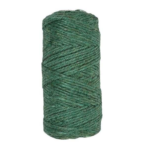 Jute Gartenschnur / Pflanzenschnur grün