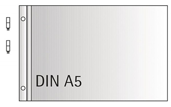Erweiterungs Set Din A5 quer +Schauben