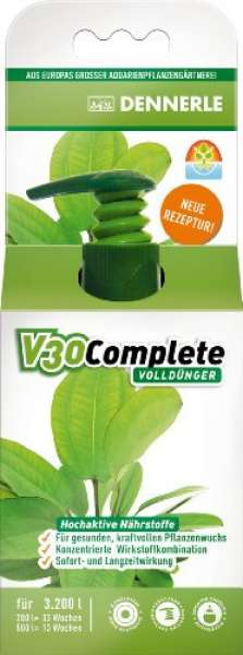 Dennerle 4458 V30 Complete Volldünger für Aquarienpflanzen, 100 ml