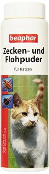 beaphar Zecken- & Flohpuder für Katzen 100g
