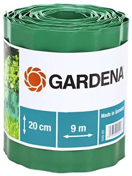 Beeteinfassung grün 20cm hoch 9m lang