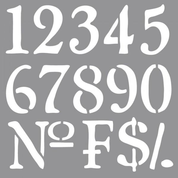 Schablone Nummern 38907000