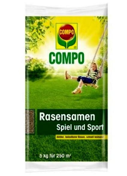 Compo Rasensamen Spiel und Sport 5kg