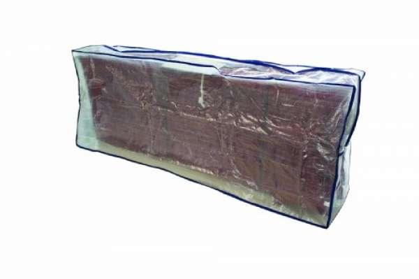 234834 Tragetasche für Auflagen transparent beschichtetes Polyethylengewebe L 130 x B 32 x H 50 cm
