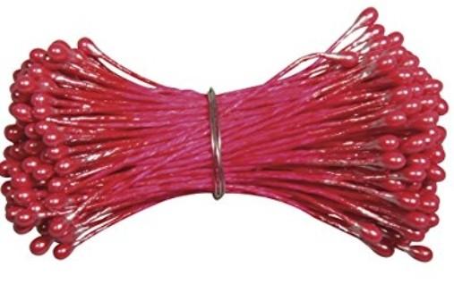 Blütenstempel 144St. rot