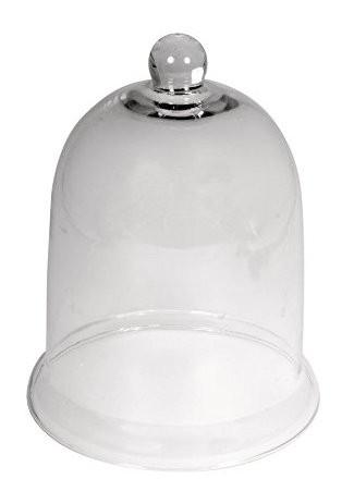 Glas Glocke 12,5cmx16,5cm