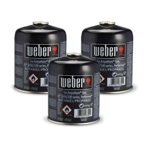 Gaskartusche Q100 3er Pack