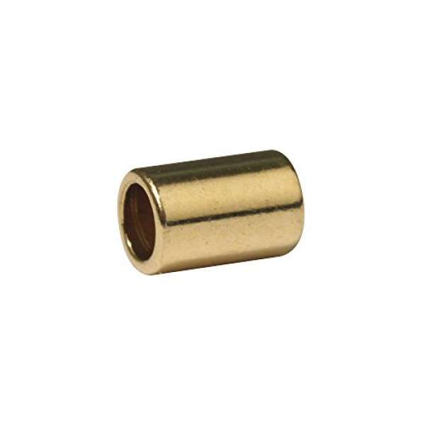 Endkappen für Lederriemen D2mm 4St. gold