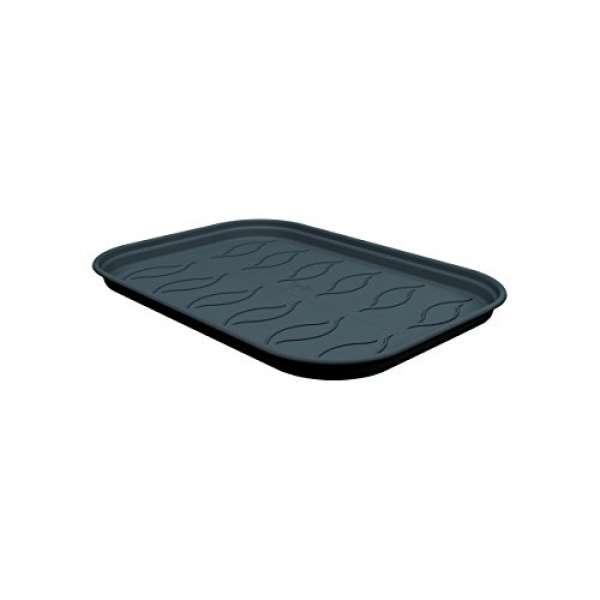 ELHO 6880102443300 Anzucht Untersetzer green basics, größe S, schwarz