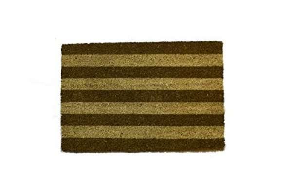 Fußmatte Streifen beige 40x60cm