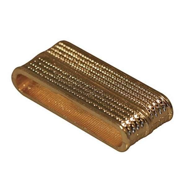 Magnetschließe 2tlg. 33mm gold