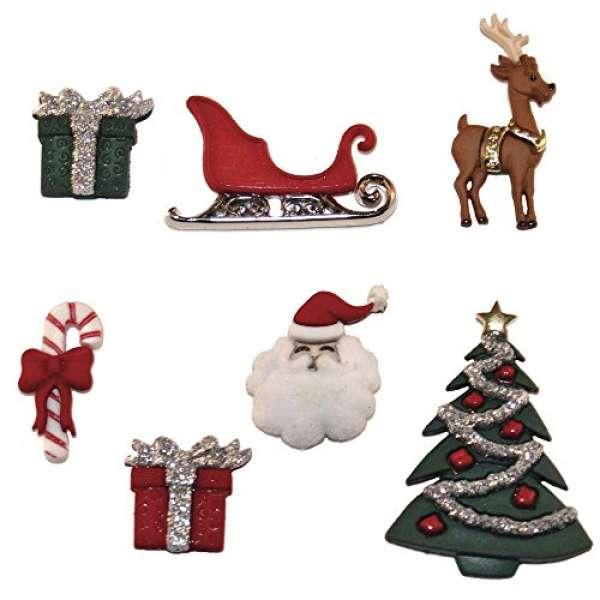 Knöpfe Weihnachten