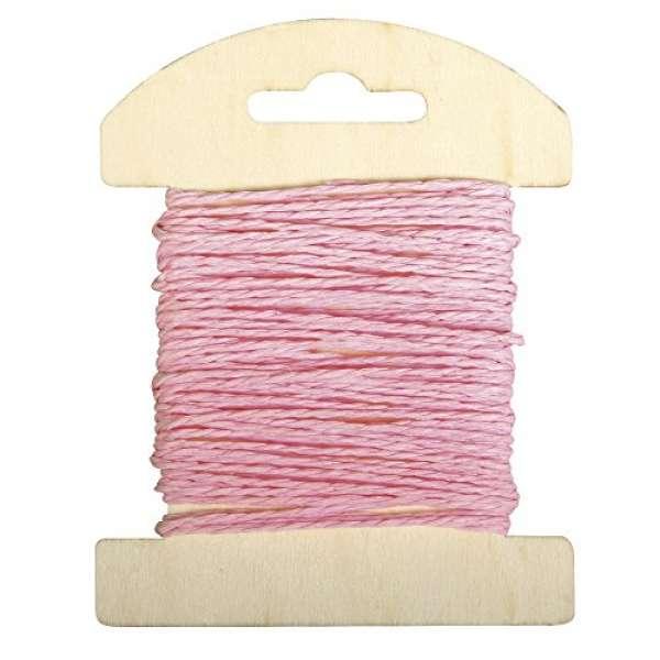 Papier Kordel 1,2mmx10m rosa