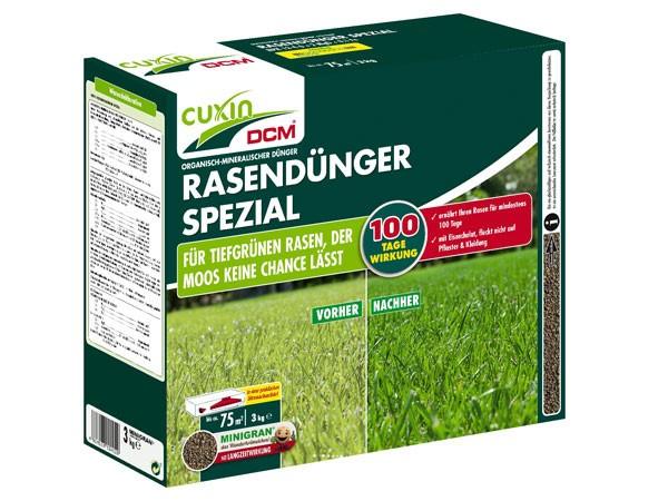 CUXIN DCM Rasendünger Spezial 3,5 kg