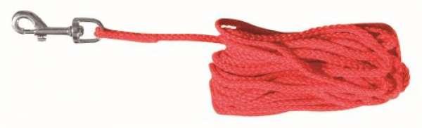 Trixie Schleppleine rot, 15 m/ø 5 mm