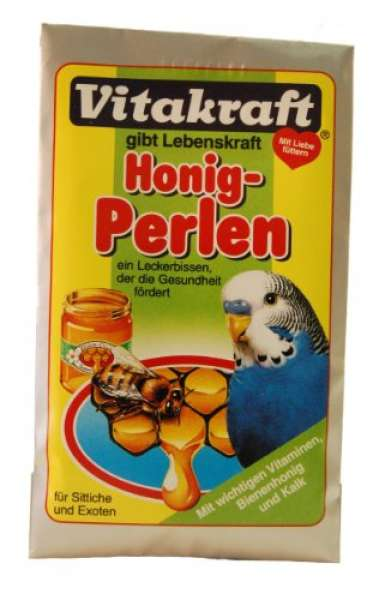 Vitakraft Honig Perlen für Sittiche 20g
