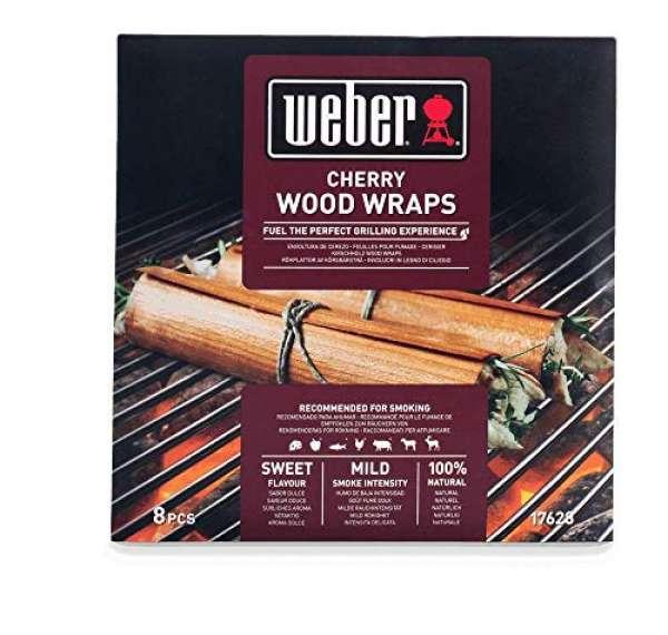 Räucher Wood Wraps Kirsch 8er