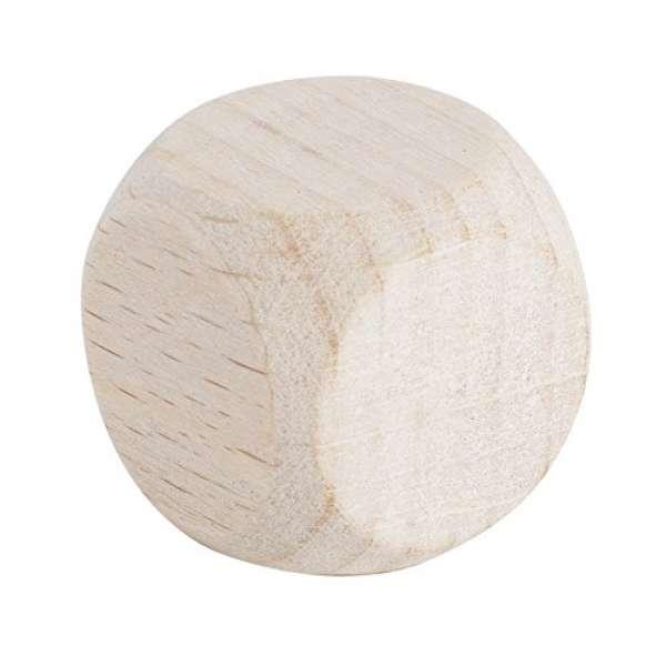 Holz Würfel FSC 100% 25x25mm 3St. natur