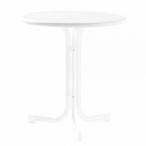 Gartentisch Klapptisch 70cm Weiss Tische Kunststoffmobel