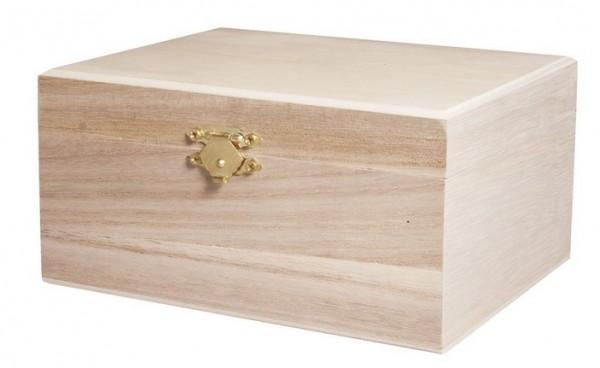 Holz-Schatulle 15,5cm