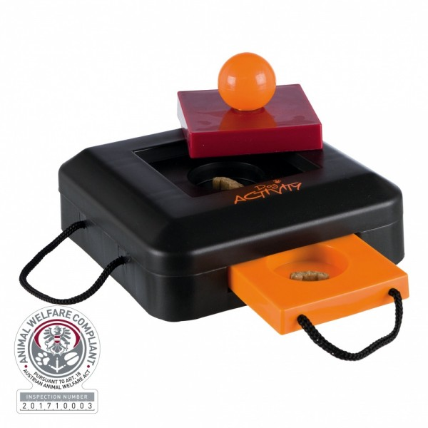 Trixie Dog Activity Gamble Box Strategiespiel, 15×9×15 cm