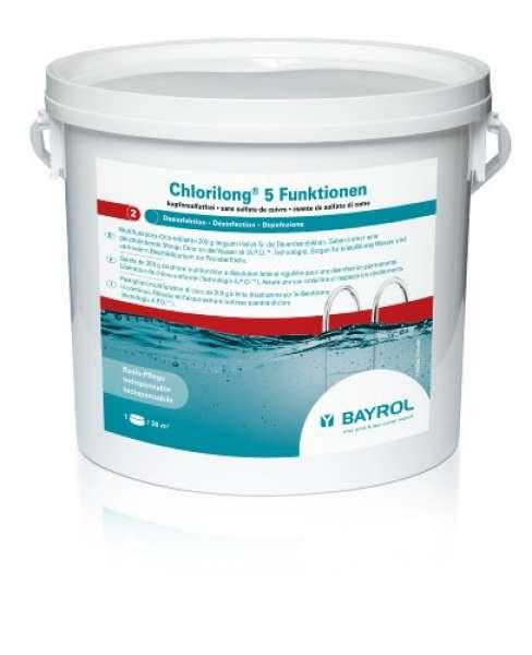 BAYROL Chlorilong 5-Funktionen 5 kg