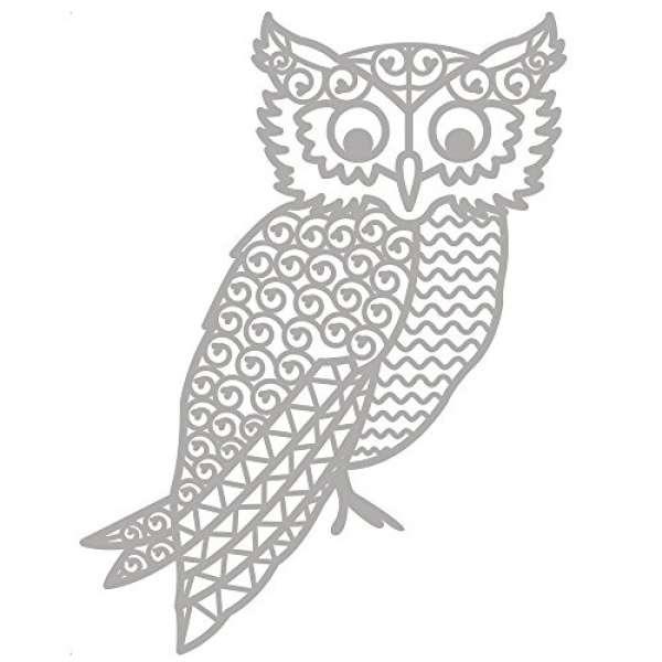 Delicate Die Owl 1St.