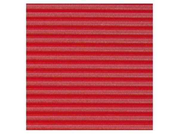Wachs-Zierstreifen Perlmutt, 20 cm, 2 mm, 15 Stück, rot