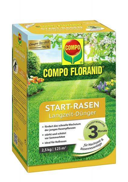 COMPO FLORANID Start-Rasendünger 5 kg für 200 m²
