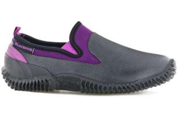 AJS Blackfox Gartenschuh Neo schwarz-violett