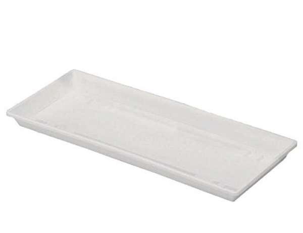 Blumenkastenuntersetzer Kunststoff für 100x17cm weiß