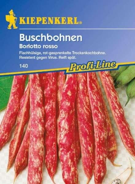 Kiepenkerl Bohne Busch Borlotto Rosso