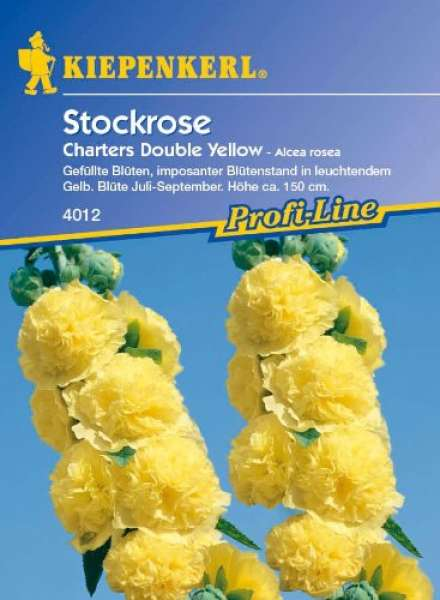 Kiepenkerl Alcea Chaters Yellow