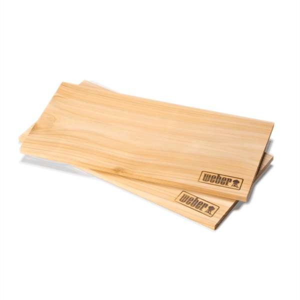 Räucherbretter Zedernholz 2 Stück