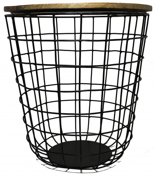 Tisch KET / Gitter- Tisch schwarz